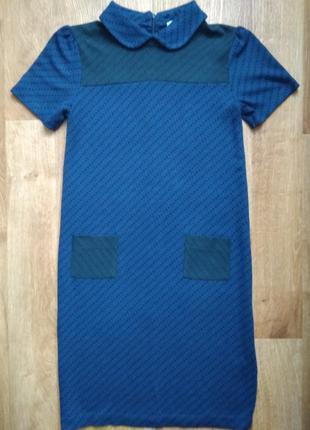 Красивое платье с воротником