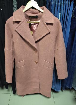 ❤️кашемировое пальто бойфренд размеры 42-48 весна осинь