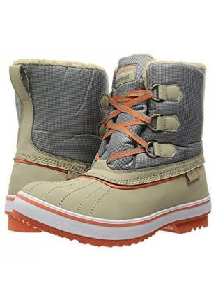 Женские ботинки skechers highlanders - polar bear taupe