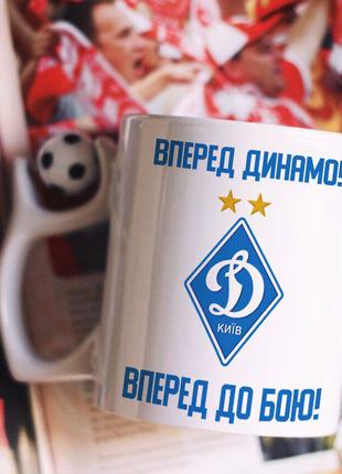 Футбольная кружка Динамо Киев