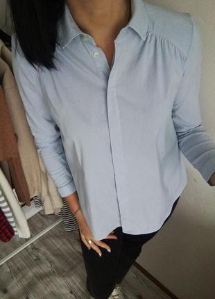 Рубашка в полоску от stile benetton