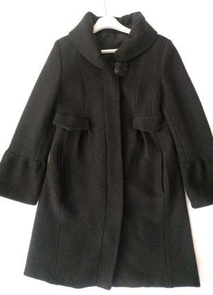 Пальто 100 % шерсть, демисезонное