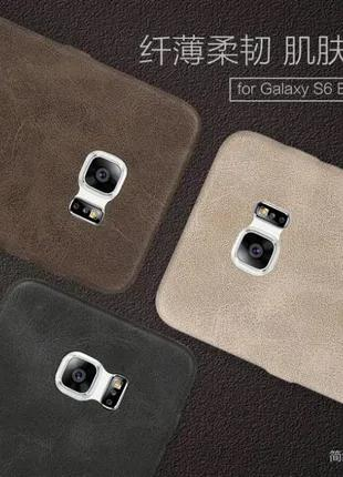 Кожаный чехол Mocolo Samsung Galaxy S6 S7 Edge Xiaomi Redmi Note