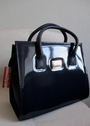 Темно-синяя сумка willow