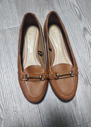 Балетки туфли под лоферы топсайдеры