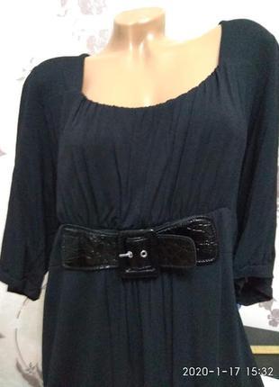 """Шикарное базовое """"маленькое"""" черное платье 32 размера"""
