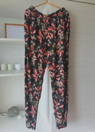 Штаны loose fit h&m штаны для дома/прогулки