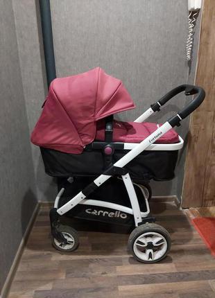 Детская универсальная коляска 2 в 1 CARRELLO Fortuna