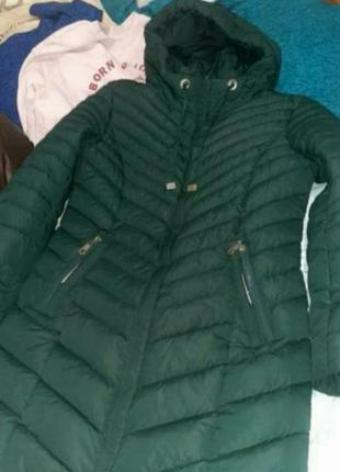 Сегодня длинная куртка, пальто