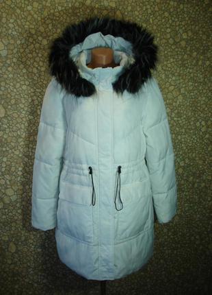 """Куртка -пальто с капюшоном (еврозима) """"primark"""" 52-54 р"""