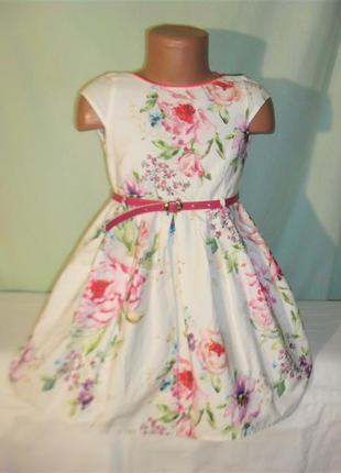 Платье некст на 4годика