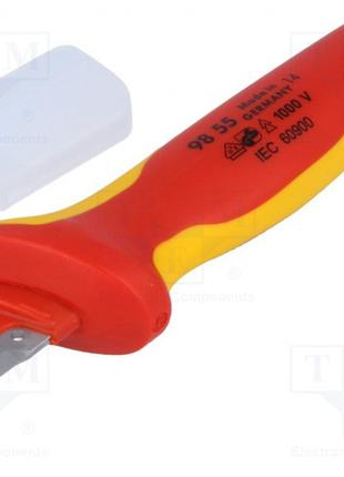 Нож для удаления изоляции Knipex 155 mm