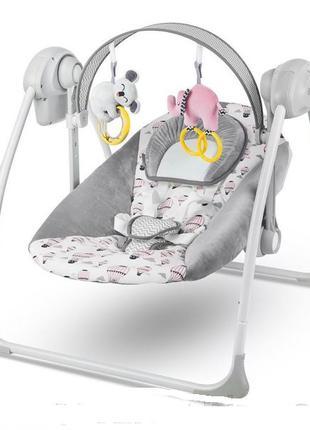 Кресло-качалка Kinderkraft Flo 2в1 (розовое и голубое)
