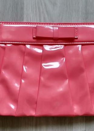 !продам женский яркий красивый лаковый клатч сумку