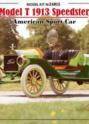 Сборная модель ICM американский спортивный автомобиль T1913 (4...