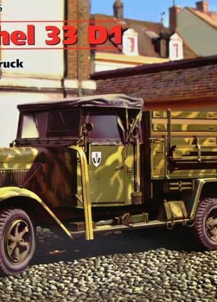 Сборная модель ICM немецкий грузовой автомобиль времен второй ...