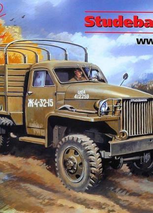Сборная модель ICM армейский грузовой автомобиль второй мирово...