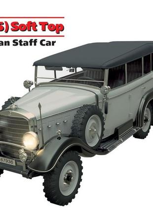Сборная модель ICM немецкий штабной автомобиль второй мировой ...