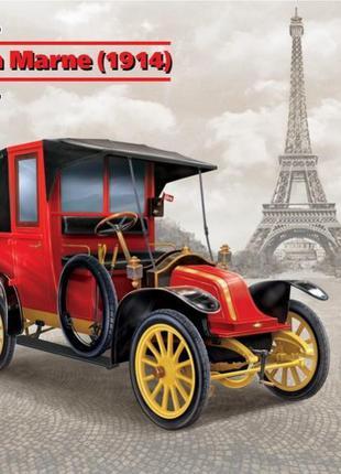 Сборная модель ICM французский автомобиль Taxi de la Marne (19...