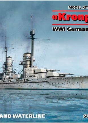 Сборная модель ICM Корабль немецкий линейный IМВ Kronprinz (По...