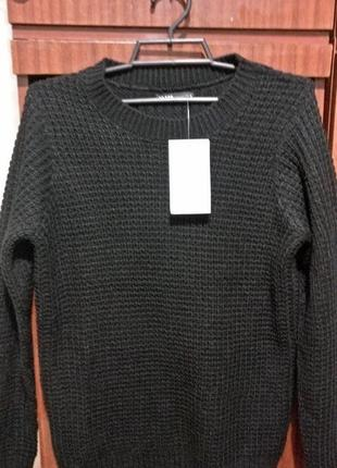 Новый женский тёплый свитер кофта джемпер