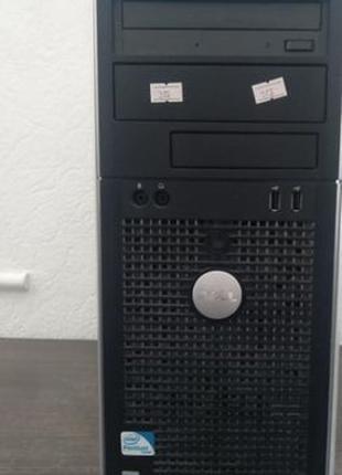 Сист. блок Dell OptiPlex 760, 2 х 2.6 Ггц, 4 Гб, 250 Гб.