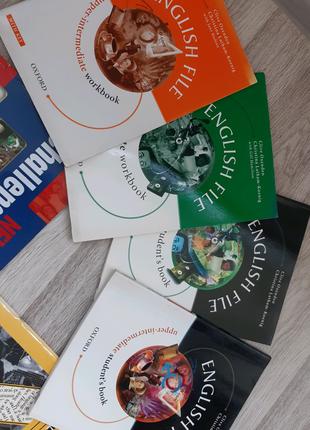 English File учебник + тетрадь