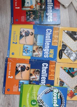 Учебник New Challenges 1,2 + тетрадь