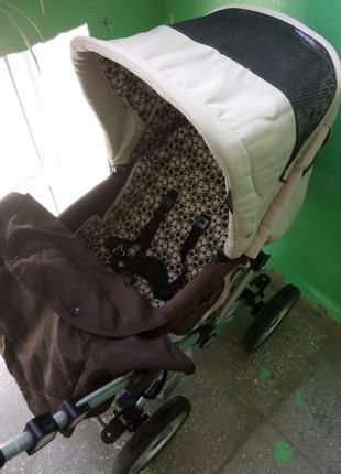 Итальянская детская коляска трансформер