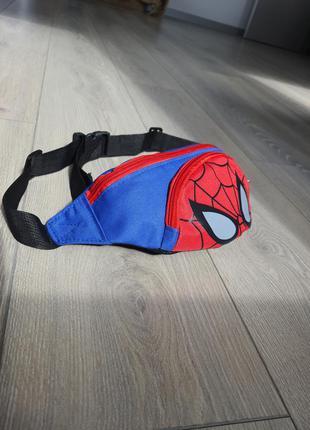 Бананка спайдермен / spiderman бананка детская  человек паук д...