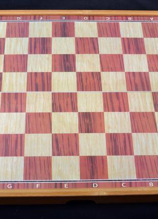 Игровой набор 3в1 нарды шахматы и шашки (29х29) X-309