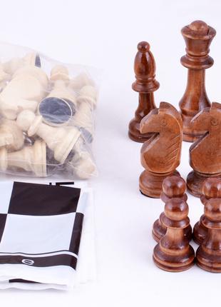 Шахматные фигуры деревянные W-040