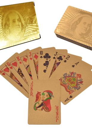 Карты пластиковые Dollar Gold (54 шт) №408-6
