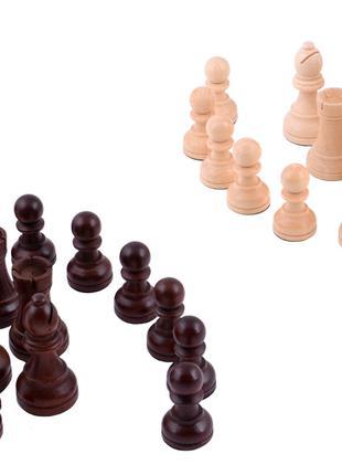 Шахматные фигуры деревянные №4405