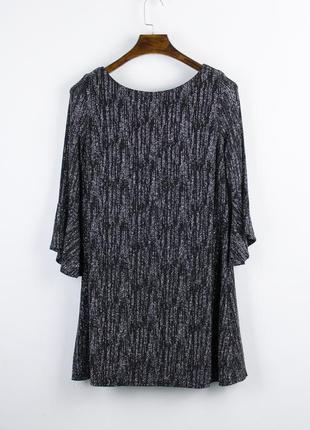 Серебристое платье короткое, нарядное платье с расклешенными р...