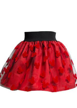 Нарядная и практичная двухслойная пышная юбка.