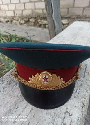 Фуражка парадная офицерская МВД СССР