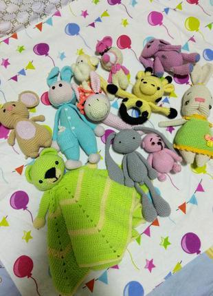 Игрушки для малышей гиппоалергенные
