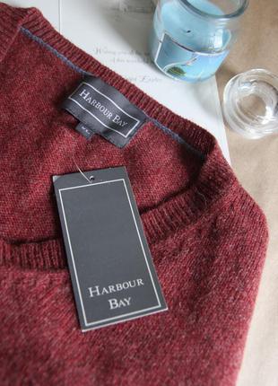 Шерстяной укороченный свитер от harbour bay