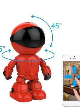 Поворотная IP камера видеоняня робот скрытая игрушка Seuno WiF...