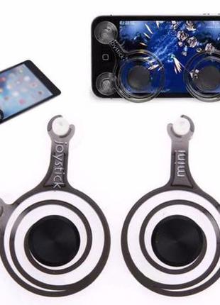 Сенсорные джойстики на липучках для телефона pubg mobile тригг...
