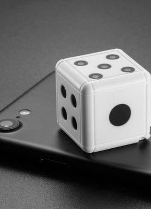 Экшн-камера кубик игральная кость скрытая Seuno SQ-16 mini HD