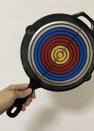 Сковородка PUBG настоящая резиновая с мишенью косплей реквизит...