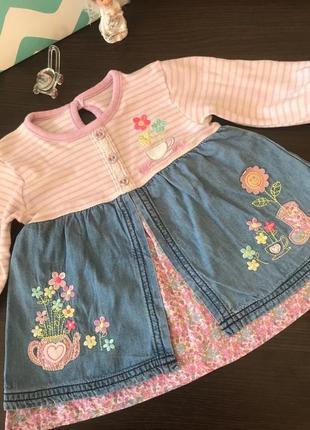 Замечательное платье/туника для малышки