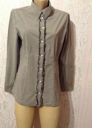 Хлопковая рубашка s.oliver m ка.