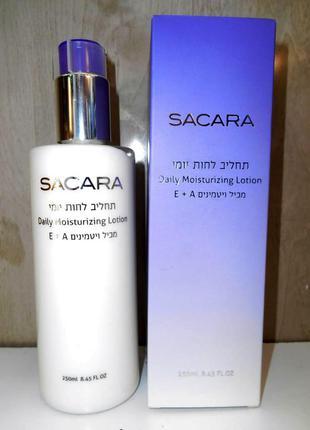 Лосьон сыворотка для лица и зоны декольте sacara израиль