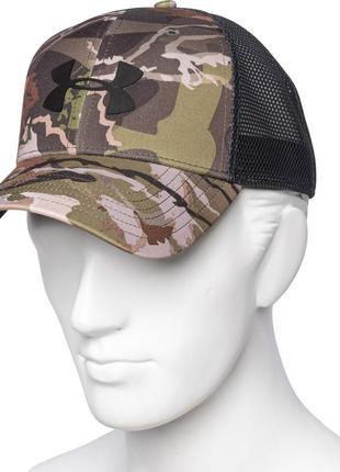 Бейсболка кепка under armour camo mesh 2.0 оригинал из сша