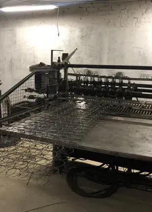 """Станки Spuhl (Шпуль) для изготовления пружинных блоков """"Боннель"""""""