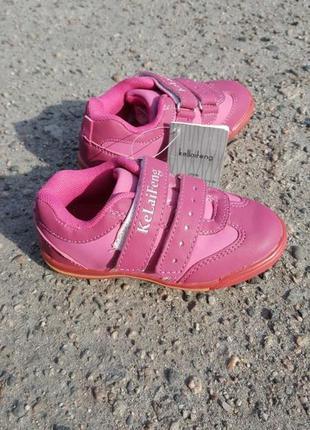 Малиновые детские кроссовки kellaifeng