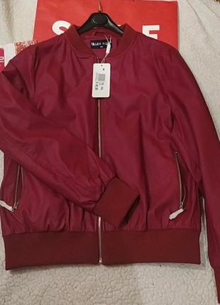 Красная куртка размера плюс италия